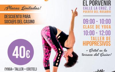 Evento en Fuerteventura: 13 de Abril, Taller de Hipopresivos en Fuerteventura